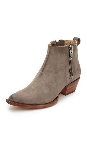 dark booties grey shoes