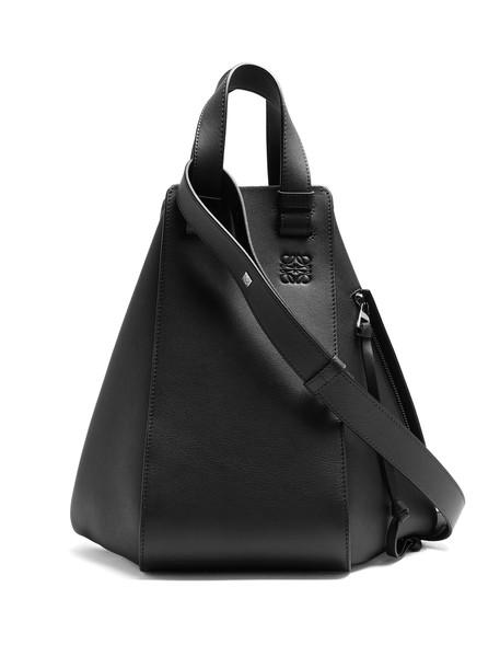 LOEWE leather navy bag