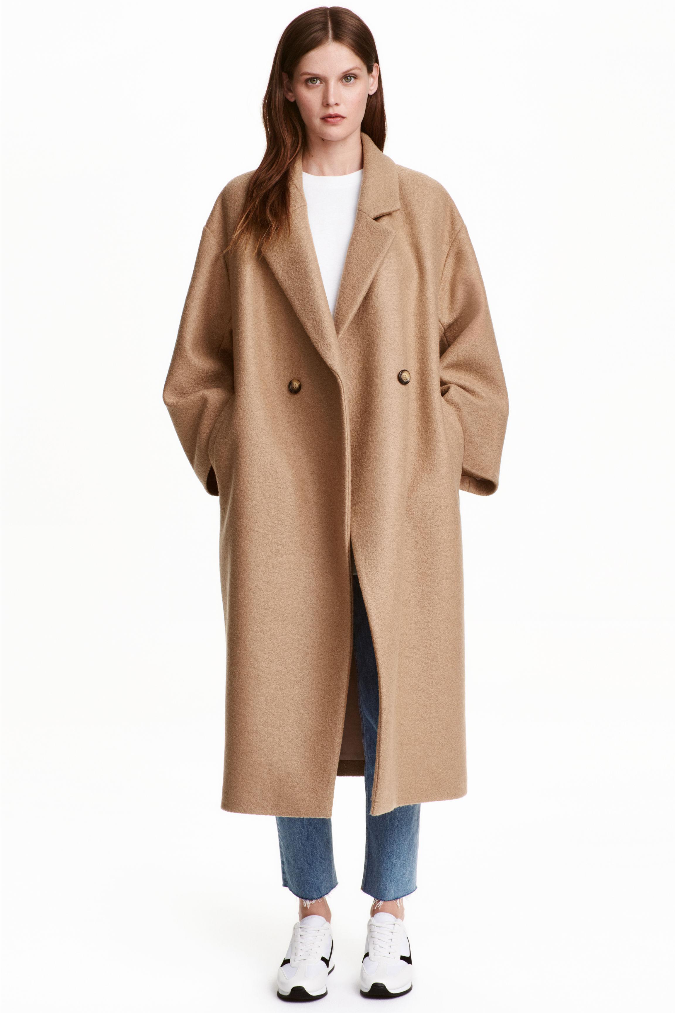 Mantel beige dames
