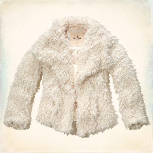 Hobson faux fur jacket