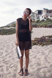 style me grasie,swimwear,dress,shoes,bag,sunglasses,jewels,beach