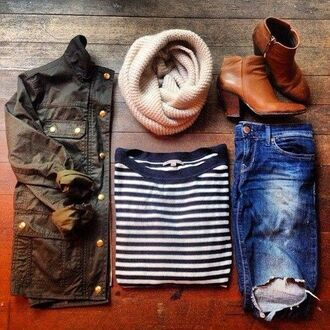 jacket army green boots army green jacket