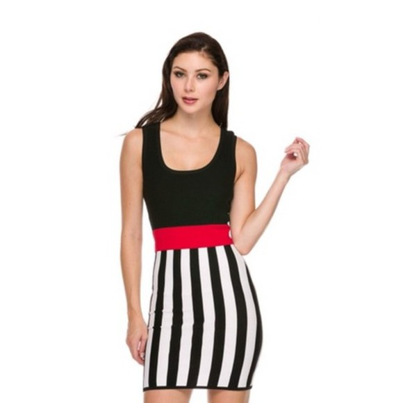 dress stripes striped dress bodycon dresses colorblock, dress, bodycon bodycon little black dress