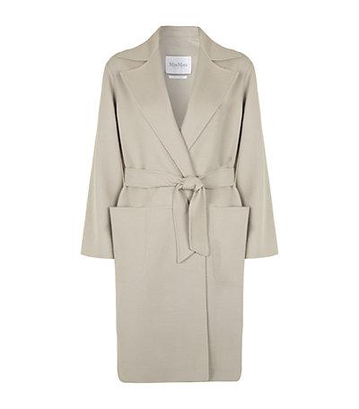 MaxMara Feltre Angora Coat | Harrods