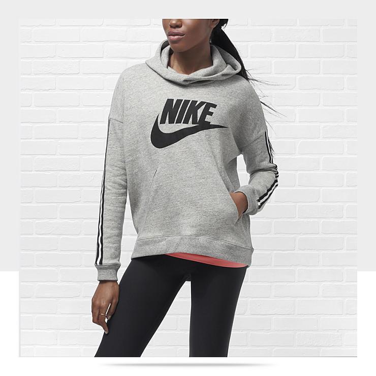 nike fleece hoodie womens