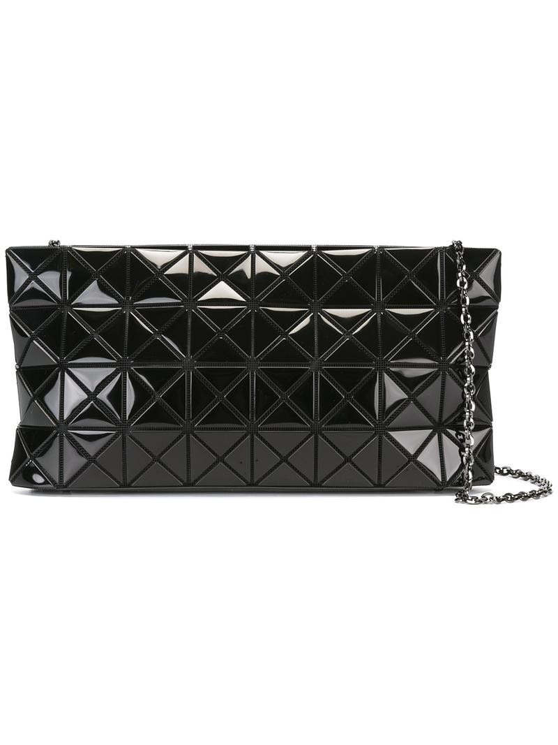 Bao Bao Issey Miyake quilted shoulder bag, Women's, Black