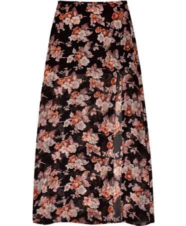 For love & lemons autumn maxi skirt