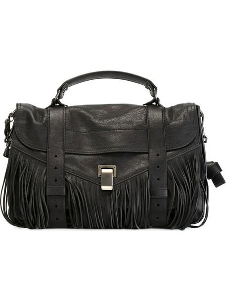 Proenza Schouler - medium 'PS1' satchel - women - Lamb Skin - One Size, Black, Lamb Skin
