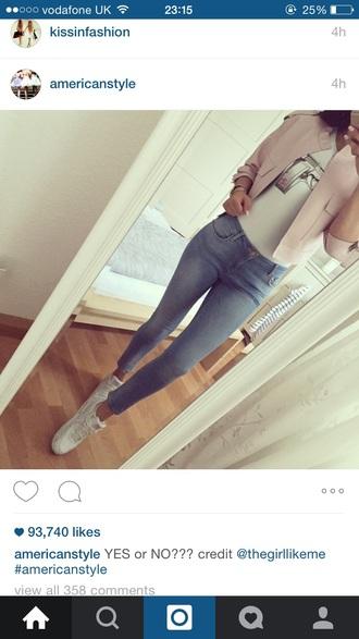 coat pink cute girly summer blazer collar autumn t-shirt shoes jeans