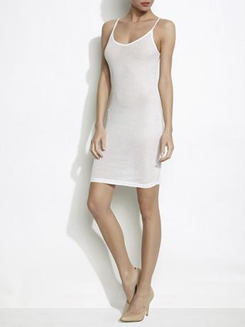 Lethalbeauty ? spaghetti strap seamless tank dress