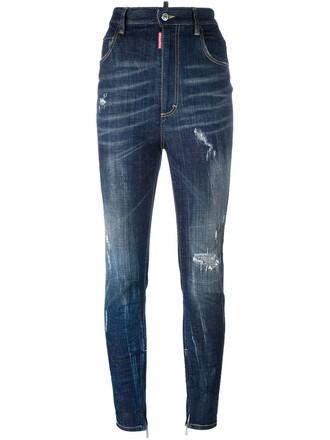 jeans skater blue