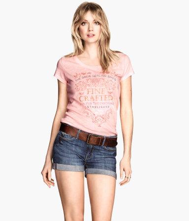H&m denim shorts $29.95