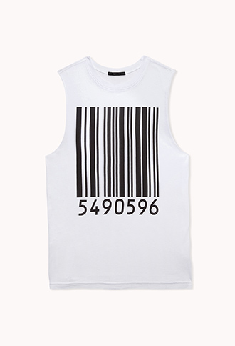 Barcode Muscle Tee | FOREVER 21 - 2076024593