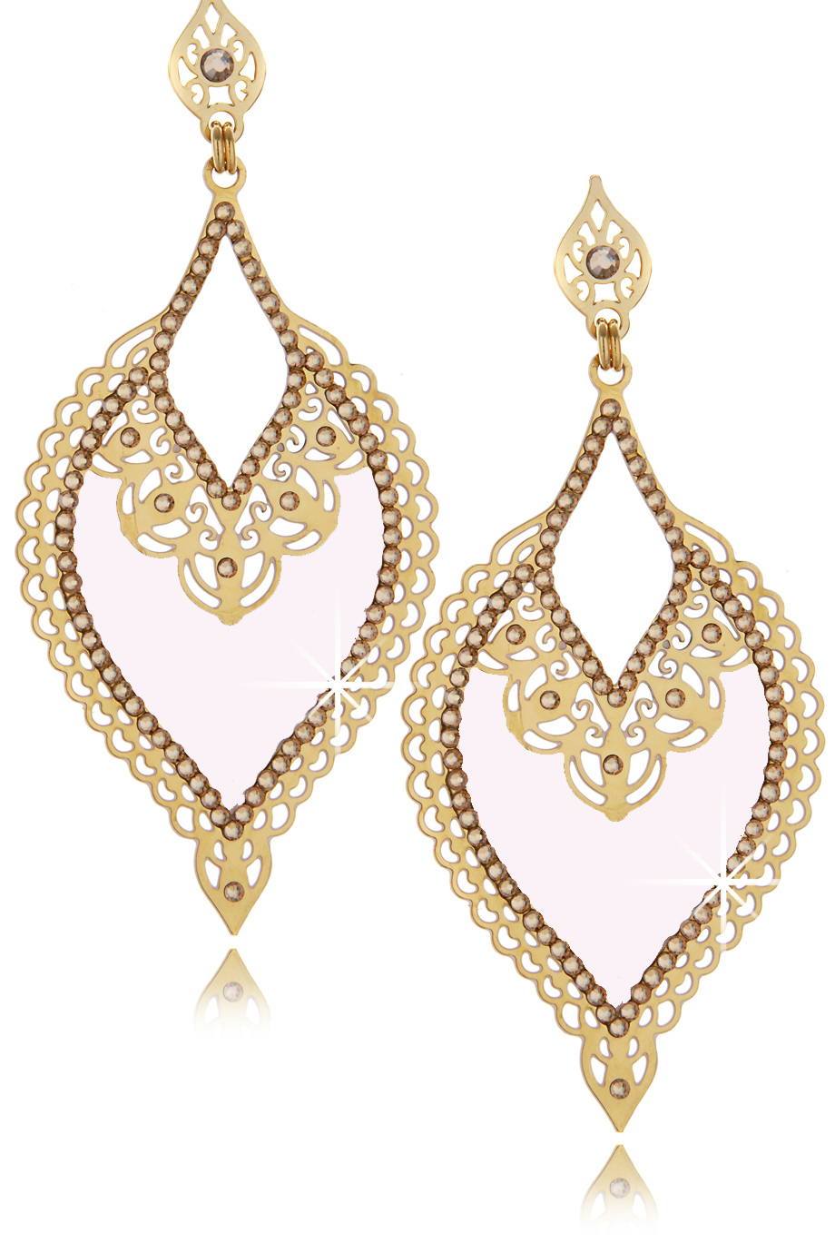 LK DESIGNS MIDNIGHT MIST Nude Earrings - ACCESSORIES | JEWELRY | Earrings | Pierced | PRET-A-BEAUTE.COM