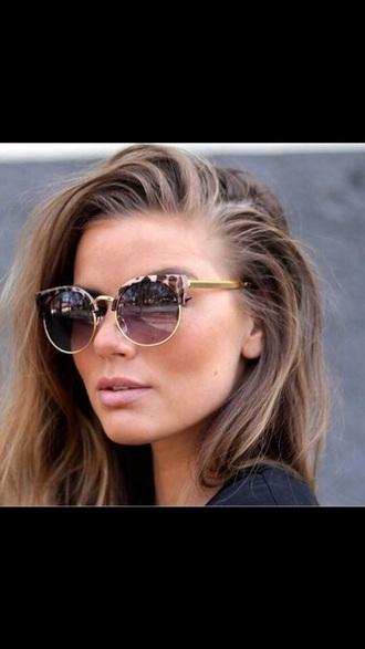sunglasses leopard print sunnies shades cat eye
