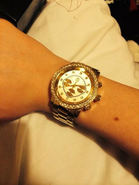 jewels watch gold