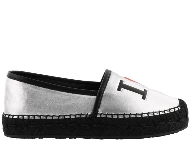 Dolce & Gabbana espadrilles silver shoes