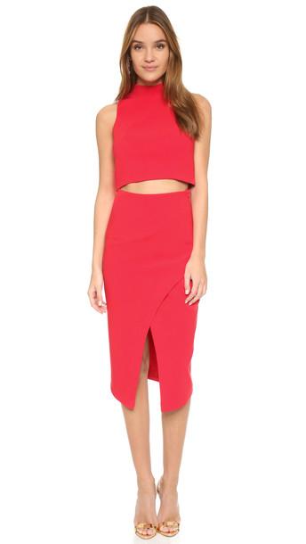 Black Halo Juma 2 Piece Dress - Chic Red
