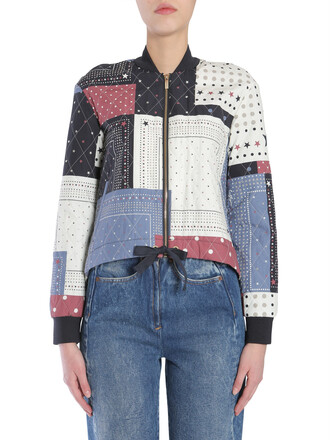 jacket bomber jacket multicolor