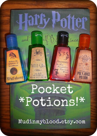 home accessory pockets potion harry potter cool colorful movie jk rowling