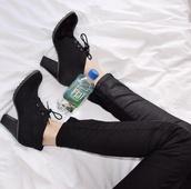 shoes,gossip girl,hipster,shoes winter,blair waldorf,serena van der woodsen,ankle boots
