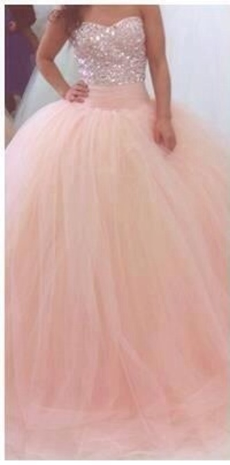 dress pink prom prom dress pink prom dress prom gown gown sparkly sequins bodice