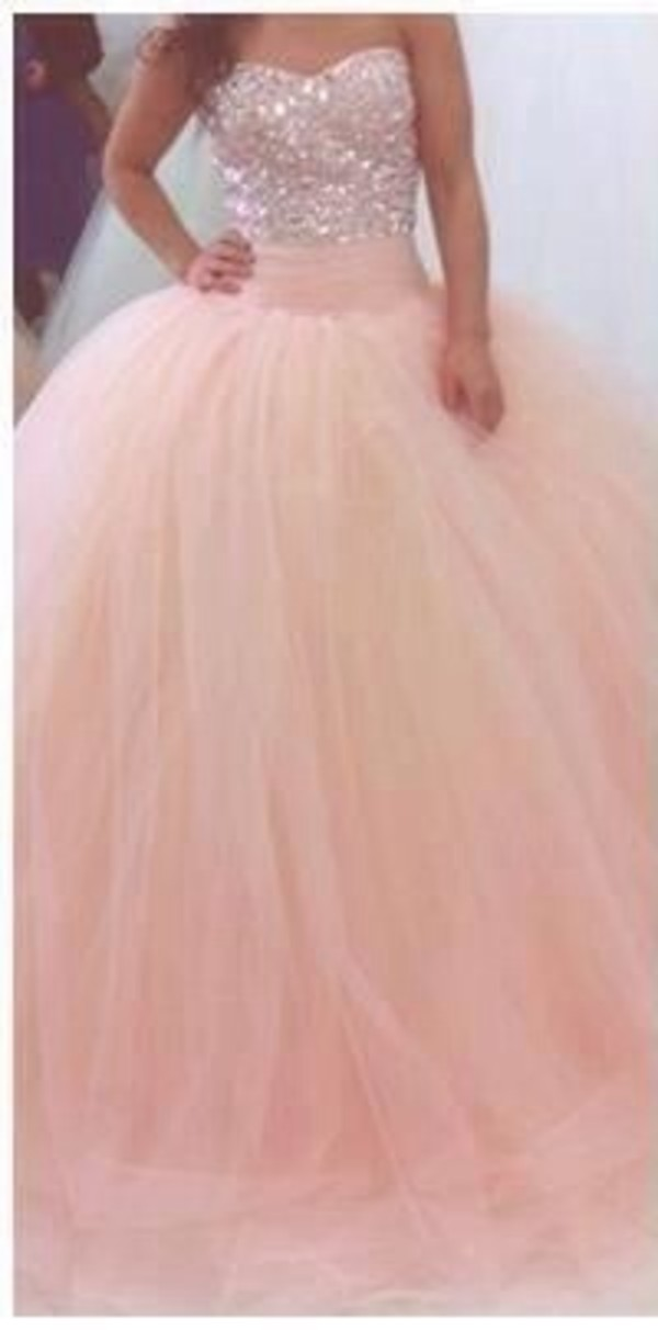 dress pink prom prom dress pink prom dress prom gown gown sparkle sequins bodice