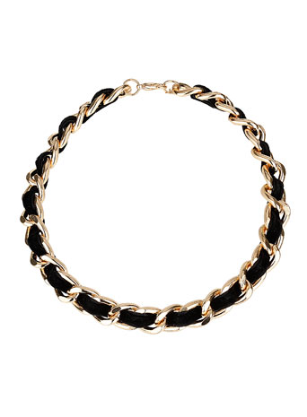 Black Thread Choker- Miss Selfridge