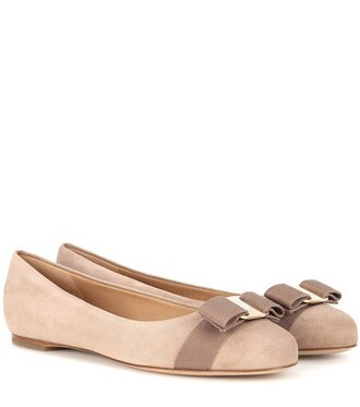 suede beige shoes