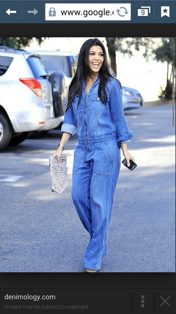 jumpsuit denim jumpsuit