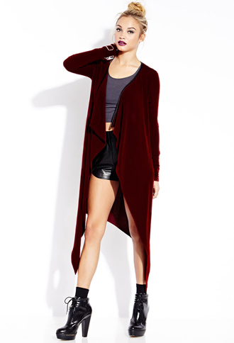 Off-Duty Draped Cardigan | FOREVER21 - 2000088108