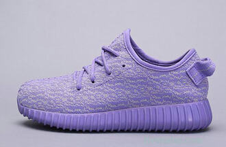 shoes adidas violet purple sneakers yeezy 350 boost