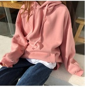 sweater,girly,pink,hoodie,sweatshirt
