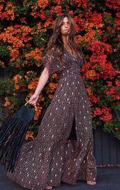 dress,maxi dress,rocky barnes,instagram,blogger,blogger style
