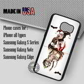 phone cover,harley quinn and joker card batman