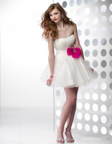 dress homecoming dress short