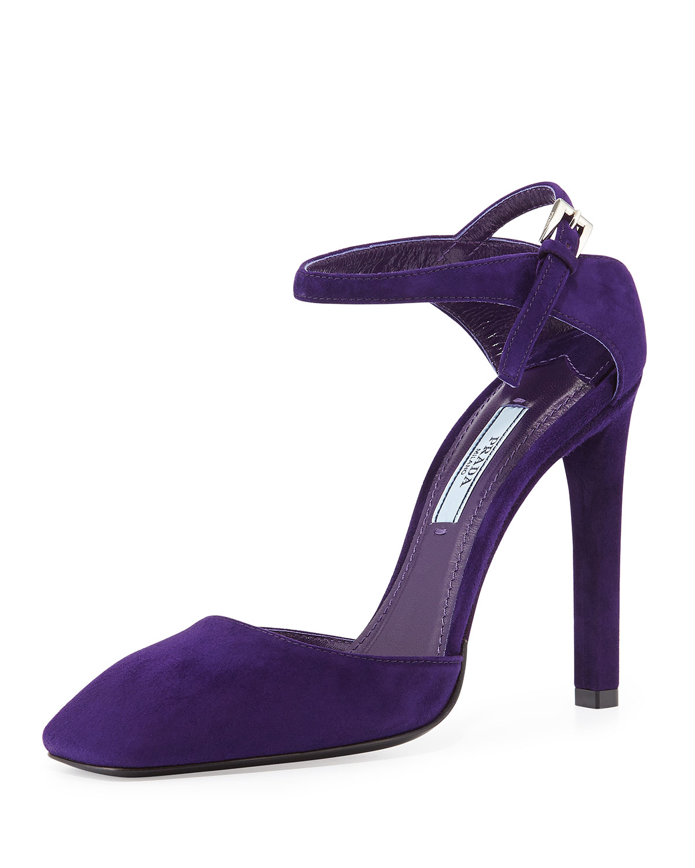 Toe mary jane sandal, viola