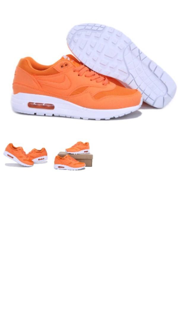 shoes nike air max orange peach
