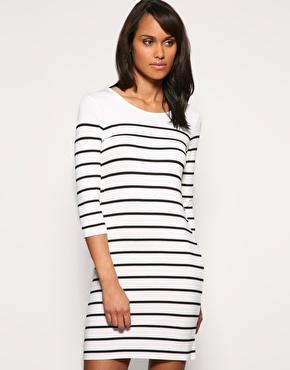 Oasis | Oasis Bretton Stripe Dress at ASOS