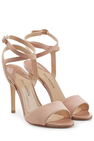 sandals suede pink shoes
