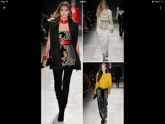 shoes designer balmain balmain jackett balmain fashion gallery paris fashion week 2016 fashion week 2016 sleeveless coat black coat black pants white pants yellow top