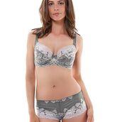 underwear,fantasie,lingerie,bra,marianna bra,plunge bra,fantasie lingerie,grey bra
