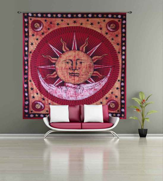 home accessory hippie tapestry mandala tapestry vintage tapestry sun and moon tapestry elephant tapestry mushroom tapestry