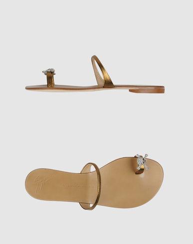 Flip flops giuseppe zanotti design on yoox united states