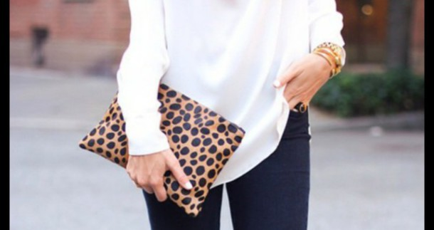 bag pochette sac a main leopard timberlands