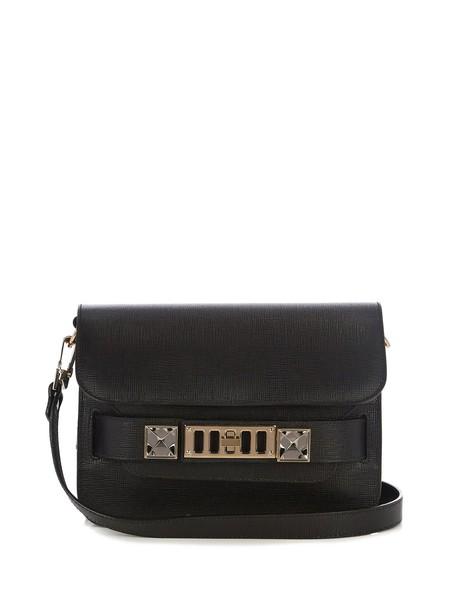 Proenza Schouler mini bag shoulder bag leather black