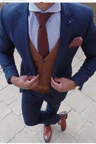 shirt suit jacket waitcoat mens debs tie hoes shoes blue