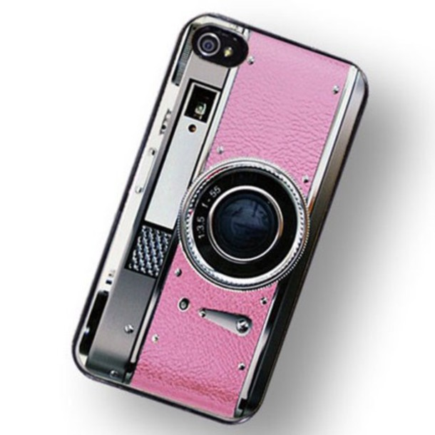 phone cover pink gray