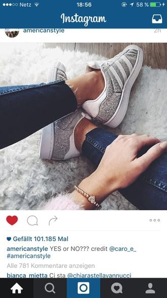 shoes adidas superstar original grey