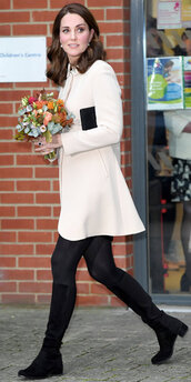 coat,kate middleton,boots,streetstyle,fall outfits
